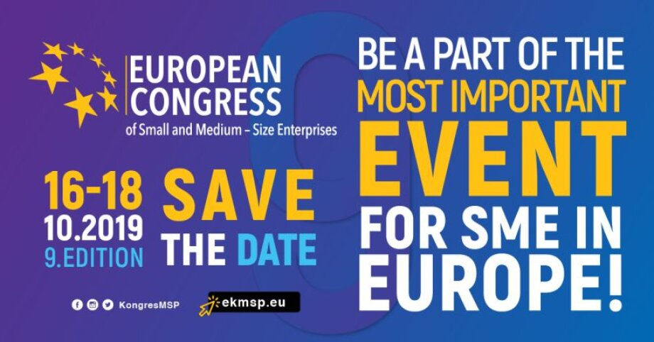 9. European Congress of Small and Medium - Size Enterprises  SMART - SAFE – SOLUTIONS