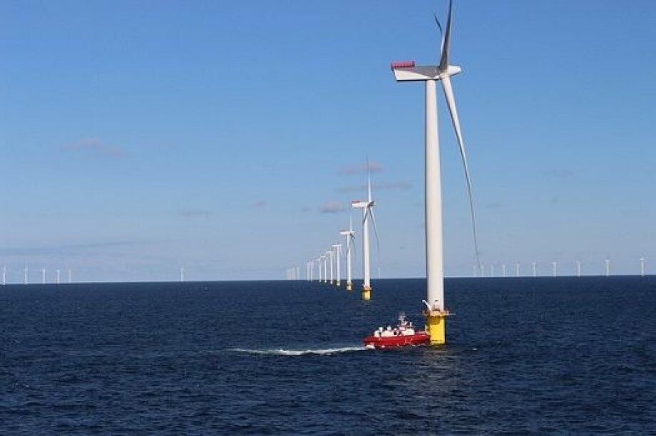 Offshore wind farms to reach 450 GW in 2050