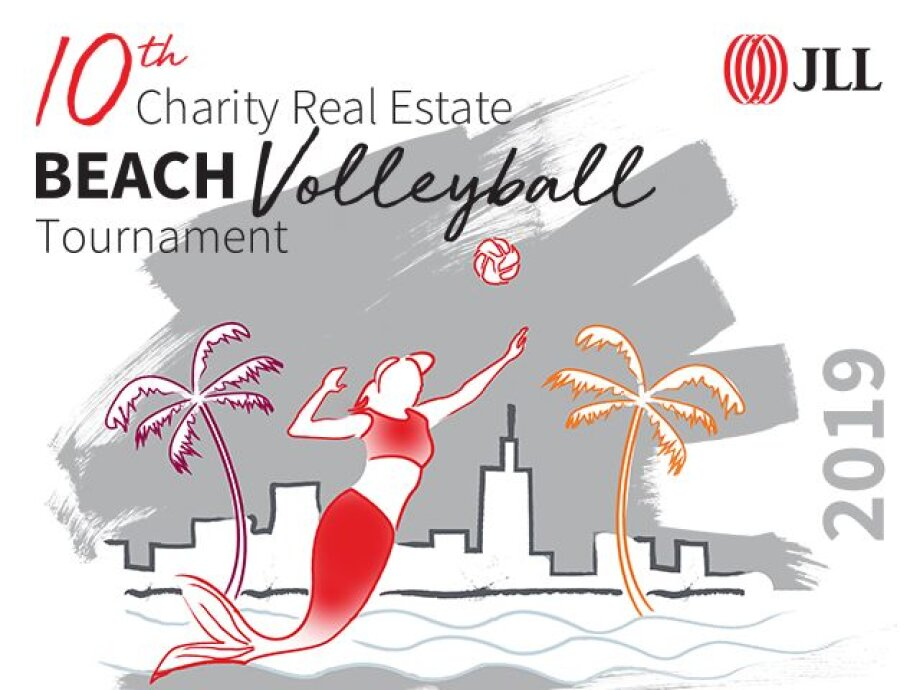 The real estate sector set to compete for volleyball gold
