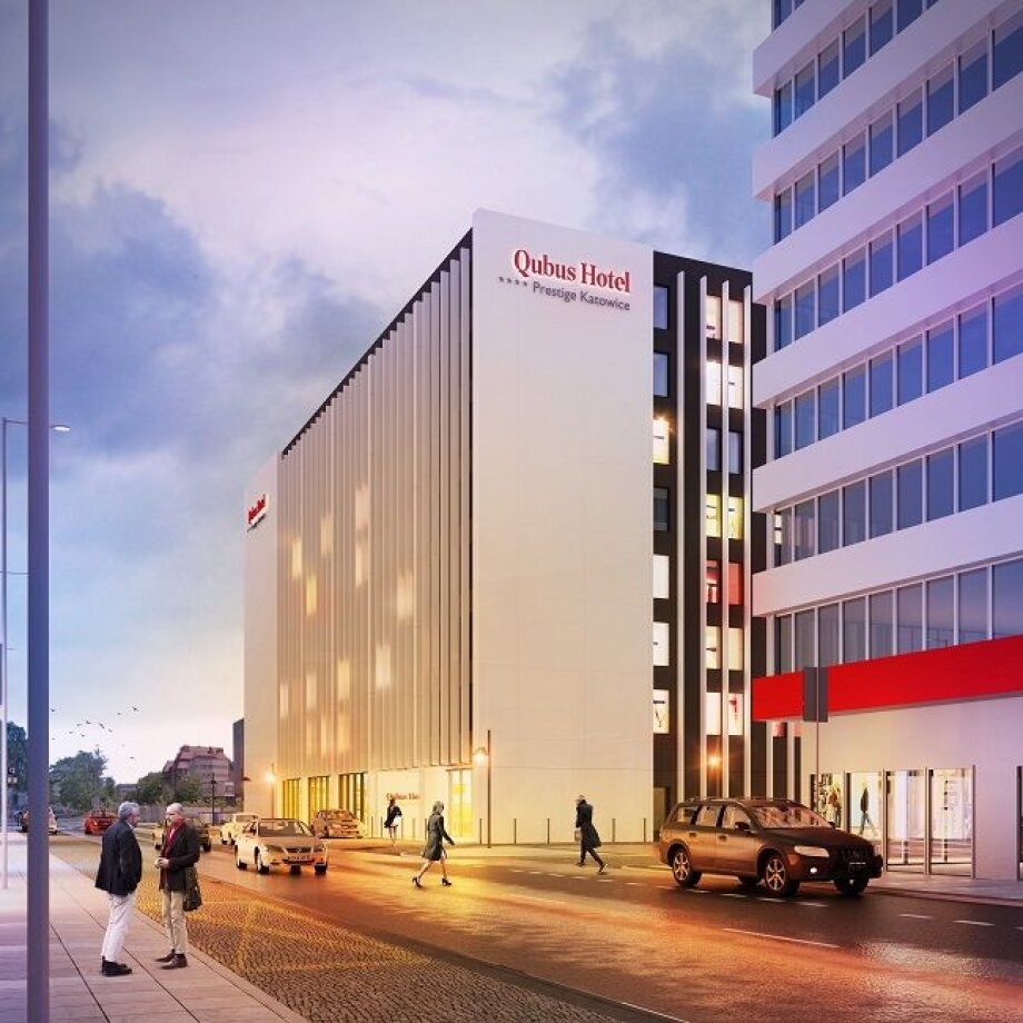 Qubus working on Katowice hotel project