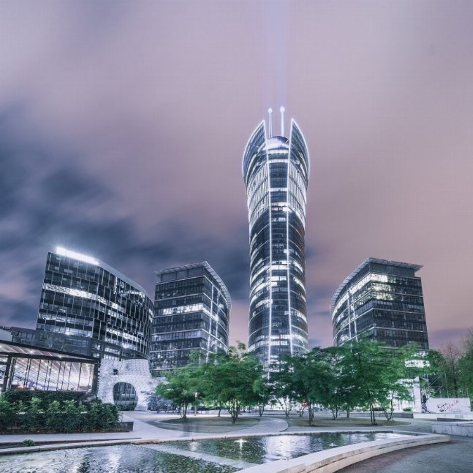 Daftcode stays in Warsaw Spire tower